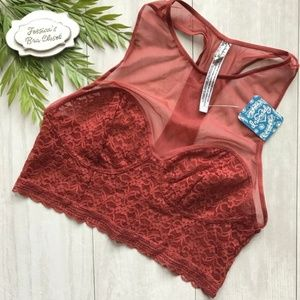 FREE PEOPLE Stay With Me Longline Brami Top NWT